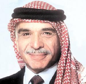 خلفيات الملك حسين بن طلال,الاردن