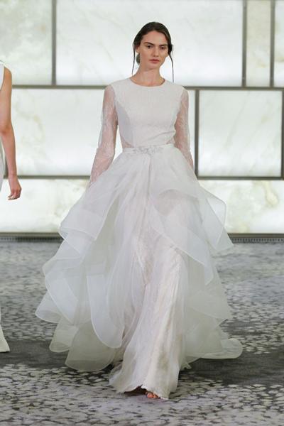 صور فساتين زفاف رفيني 2017