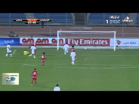 مباراة الامارات وعمان خليجى 22 يوم الجمعة 14 نوفمبر 2014 على قناة الكويت الرياضية , السعودية HD1