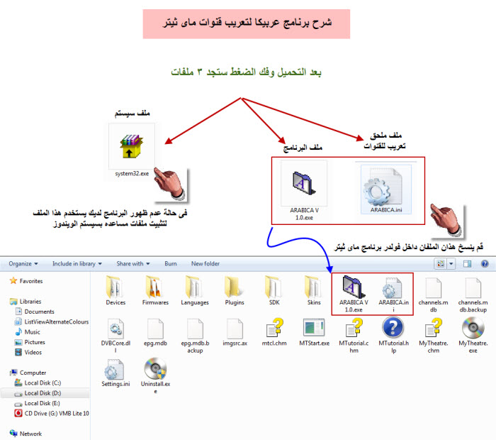 حصرى من تصميمى برنامج ARABICA v 1.0 لتعريب قنوات ماى ثيتر بضغطه واحده وفى ثوانى Img_1416083292_430