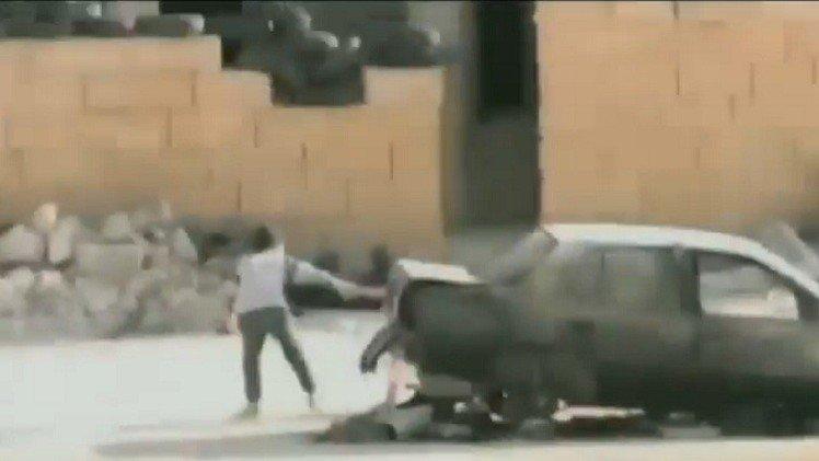 حقيقة فيديو الطفل السوري الذي ينقذ شقيقته من القناصة