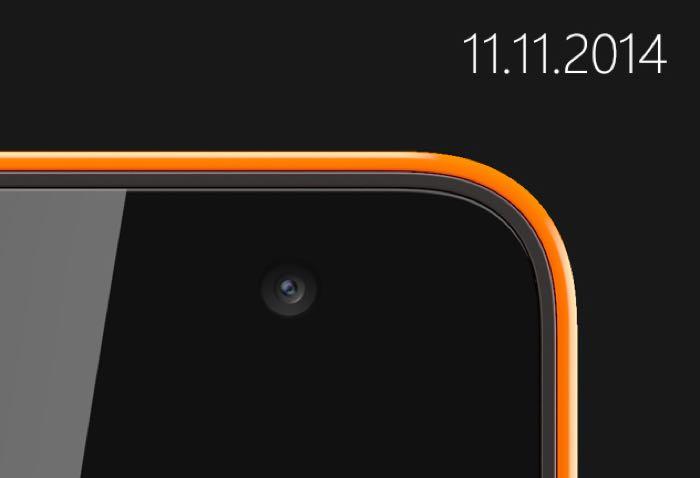 صور اول هاتف يحمل العلامة التجارية Microsoft Lumia
