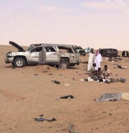 وفيات واصابات حادث الدوادمي الاثنين 24-1-1436
