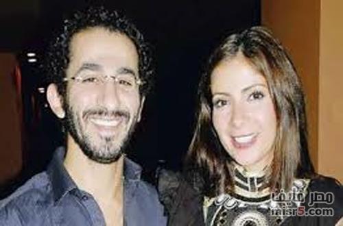 اخر اخبار الفنان احمد حلمي وزوجته مني زكي 2015 ، بعد الاصابة بالسرطان