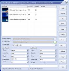 تحميل برنامج دمج الصور مع الموسيقى Aya Photo to Flash DVd Video SlideShow Creator