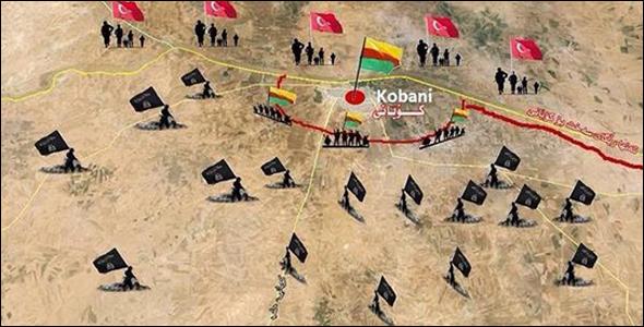 أخبار تنظيم الدولة الإسلامية داعش فى مدينة كوباني سوريا الآن مباشر 20/11/2014