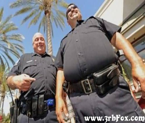 صور غريبة ومضحكة رجال شرطة