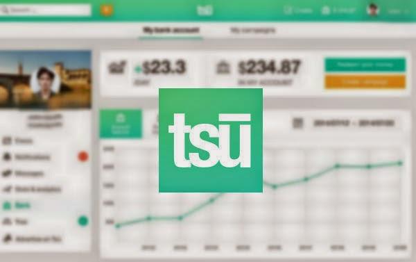 شرح بالفيديو طريقة التسجيل بموقع التواصل الجديد tsu وزيادة الأرباح عليه