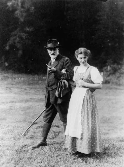 قوقل يحتفل ميلاد 119 آنا فرويد Anna Freud