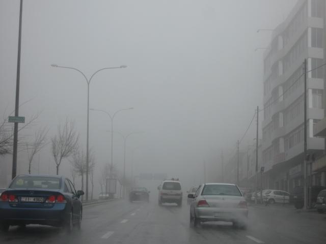صور الامطار و الثلوج في الأردن