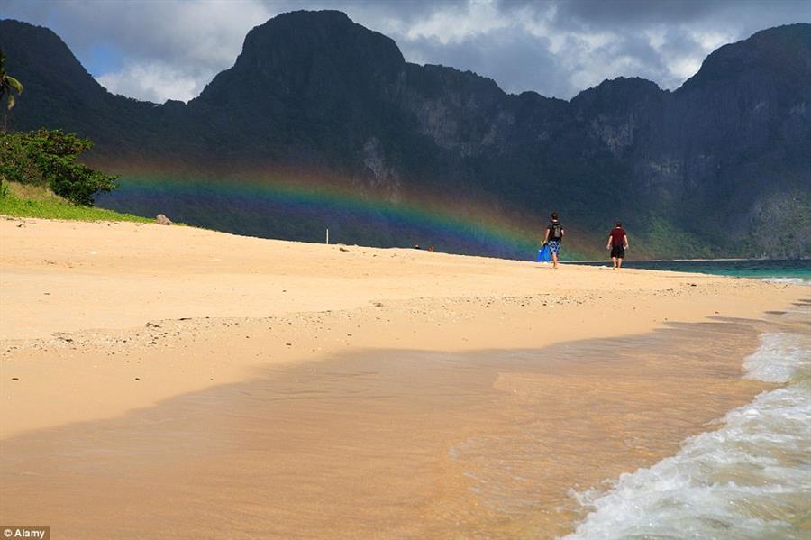 جزيرة بالاوان , صور أجمل جزيرة في العالم وفق مجلة كوندي ناست