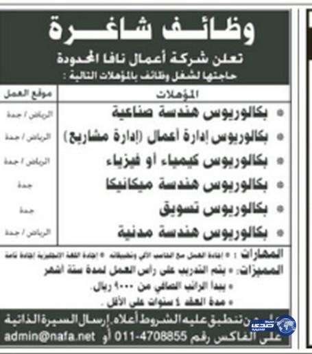 وظائف رجالية اليوم 16-2-1436 , وظائف نسائية الاثنين 8-12-2014