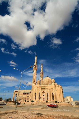 مسجد ابوبكر الصديق في المرج , صور مسجد أبوبكر الصديق في ليبيا