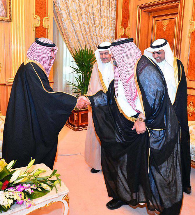 تغطية استقبال ولي ولي العهد الى الأميرة عبطاء بنت مقرن