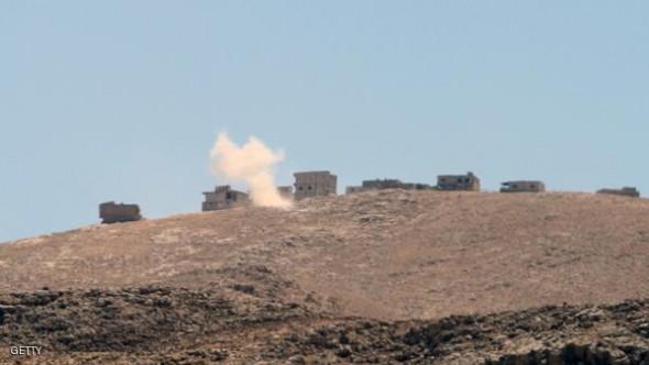 عدد من القتلى بغارة سورية على الحدود اللبنانية الاربعاء 10/12/2014