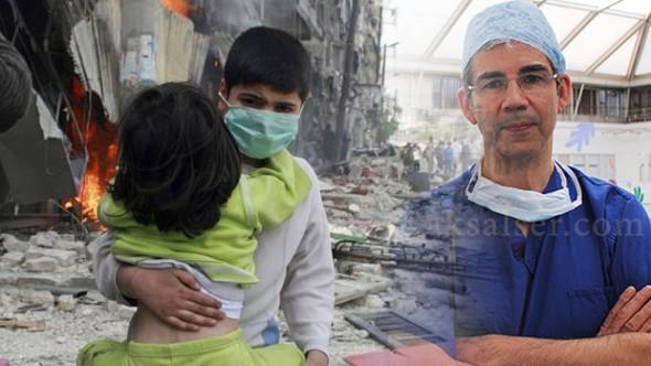 طبيب بريطاني ينجح بكشف تفاصيل مروعة عن قتل الأطفال في حلب