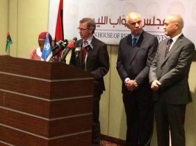 برناردينو يلتقى بعدد من الأطراف الليبية لبحث سبل الحوار الليبي