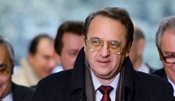 بوغدانوف في سوريا لبحث حل سلمي ينتشل سوريا من أزمتها