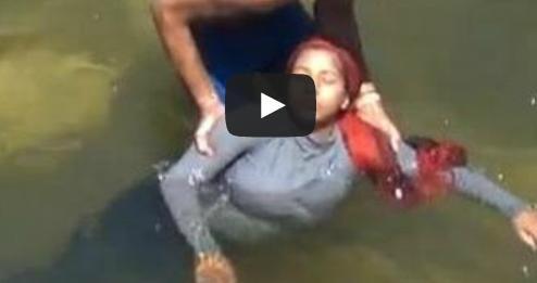 فيديو فتاة مصرية تنتحر في النيل هرباً من التحرش
