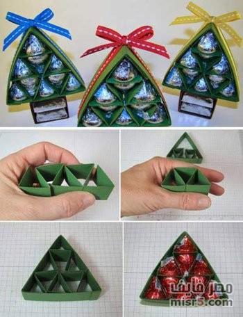 افكار بسيطة في صناعة هدايا وزينة الكريسماس