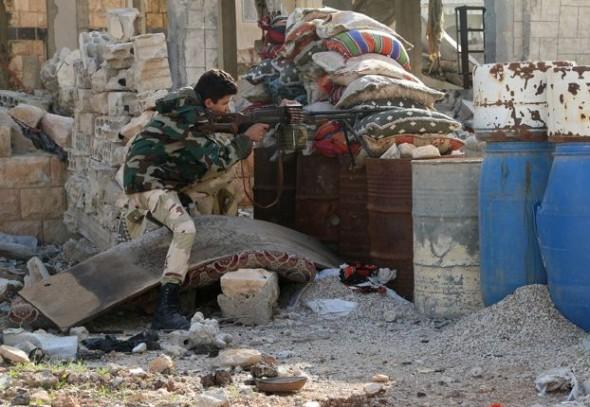 إستمرار المواجهات وإزياد حدتها في حلب