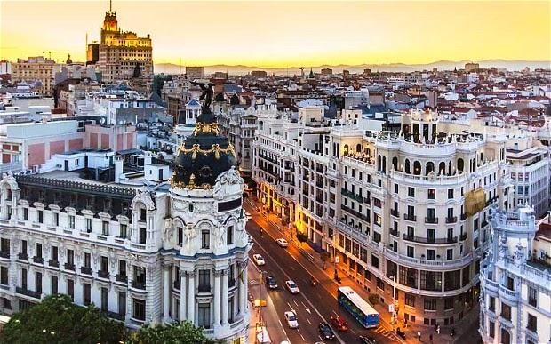 برنامج سياحي لزيارة مدريد , معلومات عن عاصمة اسبانيا مدريد