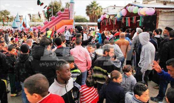 مهرجان البركة الترفيهي للأطفال في بنغازي