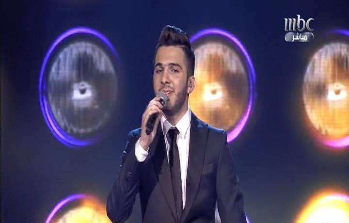 اغنية عنابي يا خدود الحليوه - حازم شريف - برنامج عرب ايدول Arab idol الحلقة الاخيرة