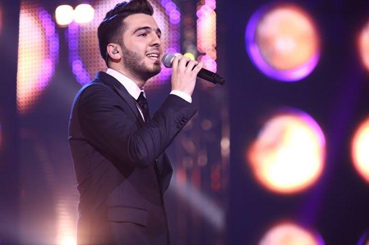 اغنية بكتب اسمك يا بلادي - حازم شريف 2014 ، اغنية الفوز الحلقة الاخيرة Arab idol