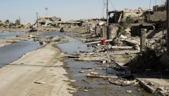 عناصر داعش يسيطرون على مقر لواء عسكري في الرمادي