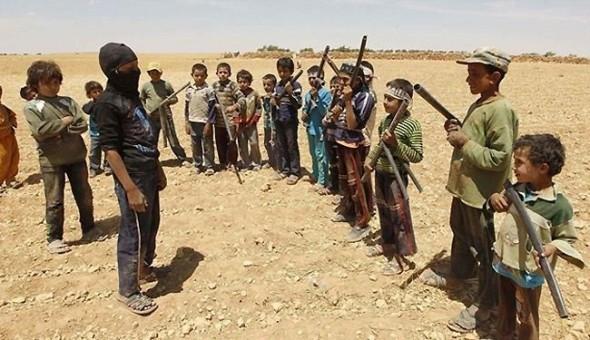 تجنيد أطفال دون 10 من قبل داعش في سوريا