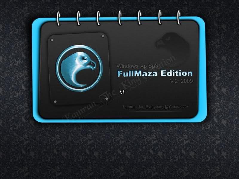 النسخه العملاقه Windows Xp SP3 FulllMaza Edition v.2