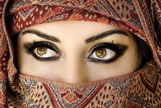 صور بنات منقبات , صور بنات بنقاب جميلة ,صور بنات ملثمات بدويات