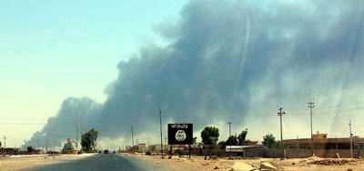 هجوم قوات البيشمركة الكردية على مواقع داعش غرب الموصل