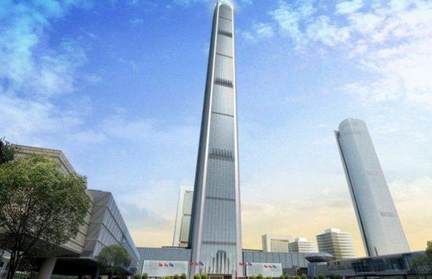 غولدين المالية 117 تيانجين ، الصين
