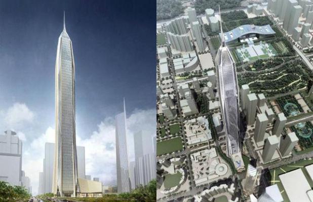 مركز التجارة الدولي بينغ شنتشن ، الصين