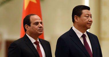 الرئيس الصيني يعرب عن أملى في توطيد العلاقات المصرية الصينية