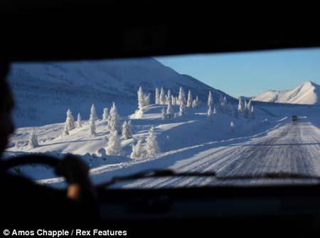 القرية الاكثر برودة على وجه الأرض بالصور