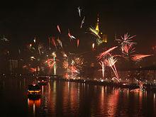 احتفالات رأس السنة في فرانكفورت