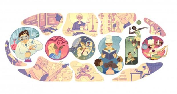 جوجل تحتفل باليوم الدولي للمرأة 8 مارس