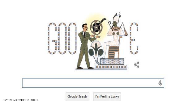 احتفل محرك البحث الشهير غوغل بذكرى ميلاد المخرج المصري شادي عبد السلام
