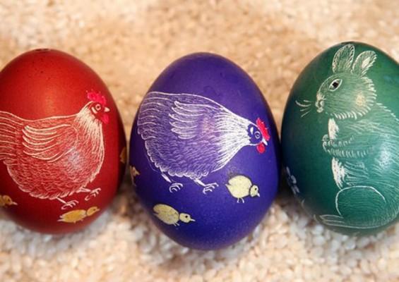 صور بيض شم النسيم , بيض شم النسيم بأجمل الألوان 2016