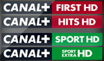 CANAL+ First HD CANAL+ Hits CANAL + Sport Extra HD