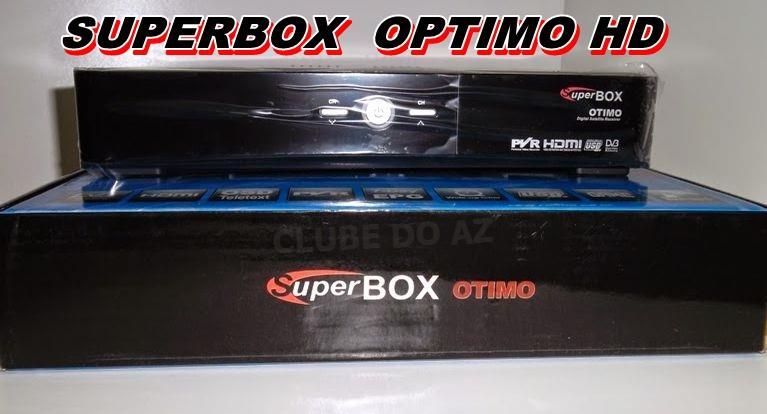 جديد رسيفر SUPERBOX OPTIMO HD بتاريخ 3-6-2015