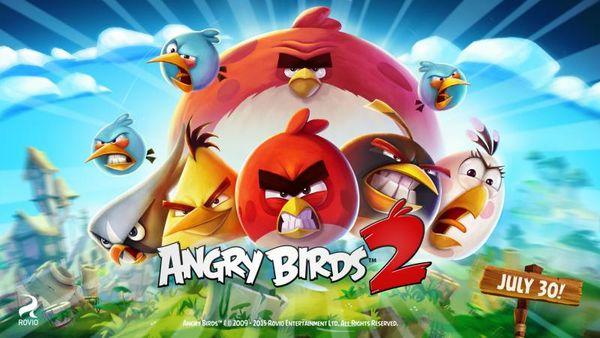 بعد النجاح الكبير Angry Birds 2 قادمة نهاية الشهر