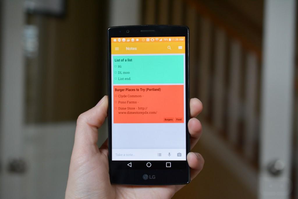 تطبيق الملاحظات Google Keep على أندرويد يجلب سهولة إنشاء الملاحظات وأكثر
