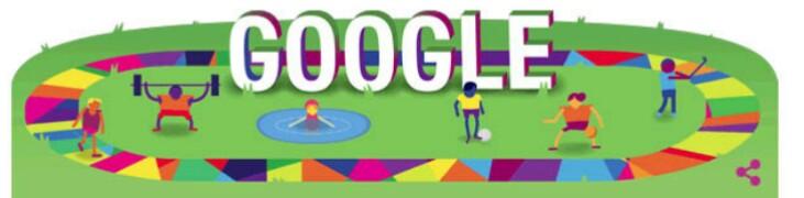 جوجل تحتفل ب الالعاب العالمية الصيفية للاولمبياد الخاص