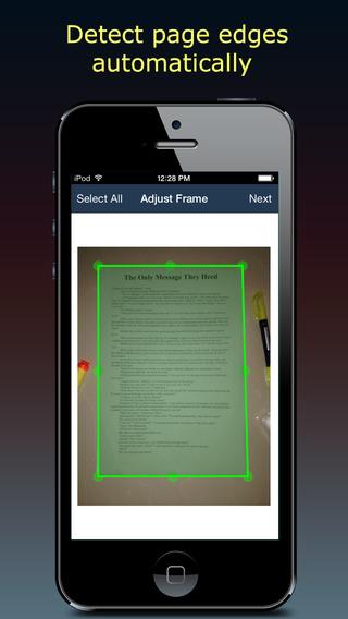����� ������ ������ ������� Fast Scanner ��� ������� � iOS