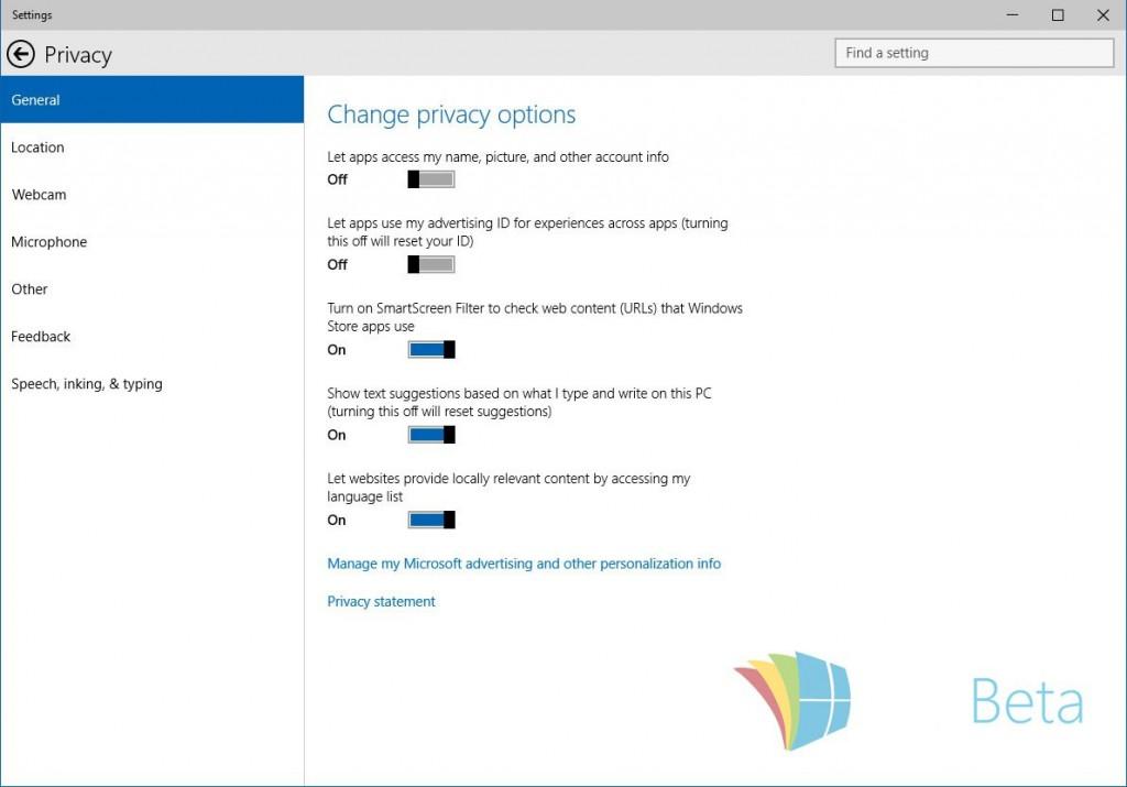 طريقة منع مايكروسوفت من الإطلاع على بياناتك عبر ويندوز 10