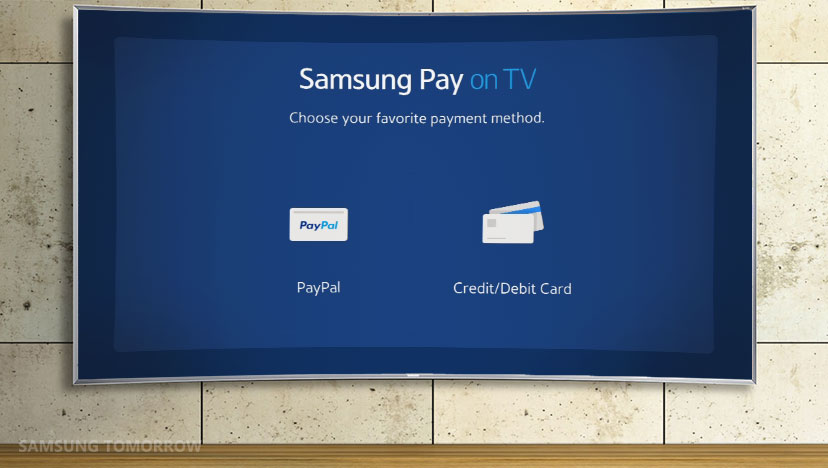 سامسونج باي ستتوفر على شاشات تلفاز سامسونج